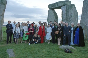 A liferites ceremony at Stone Henge